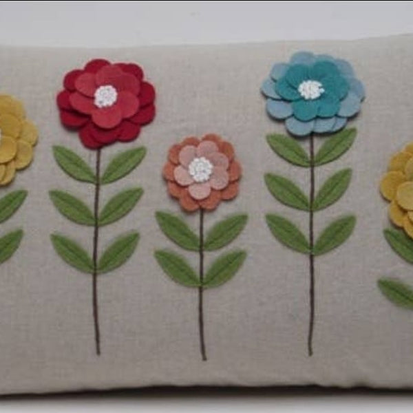 Alice's Flowers Pillow