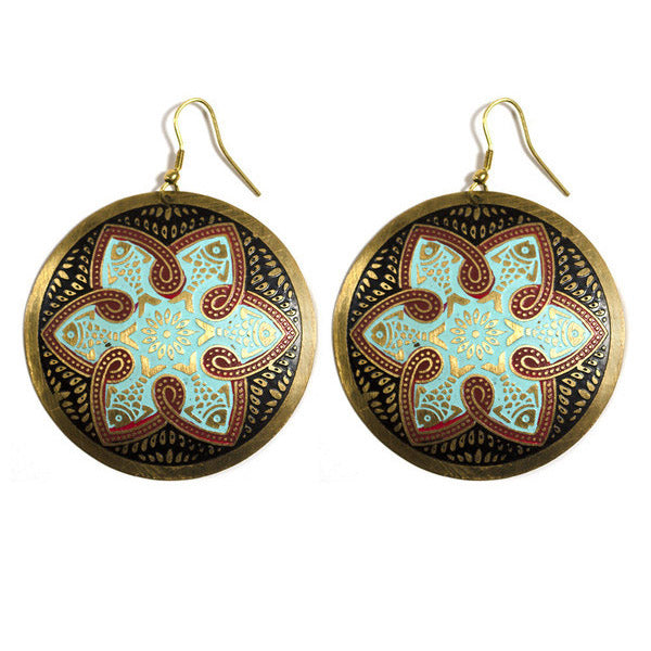 Tzolk'in Earrings
