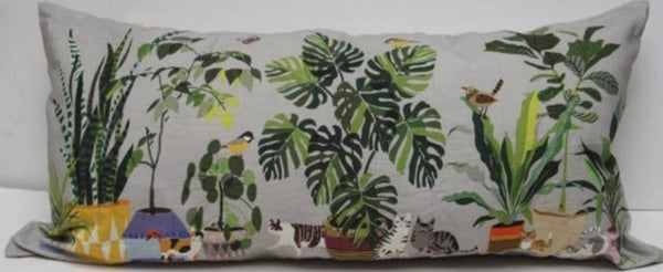 Cats in the Garden Pillow