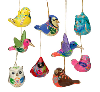 Ceramic Bird Ornament