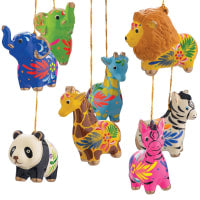 Zoo Animal Ornament