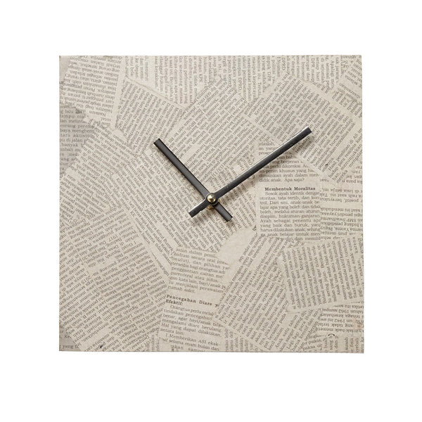Newspaper Wall Clock