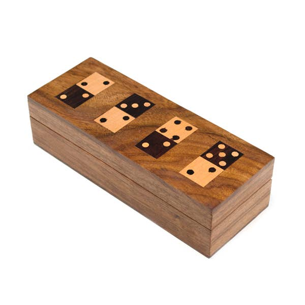 Domino Set- Shesham Wood