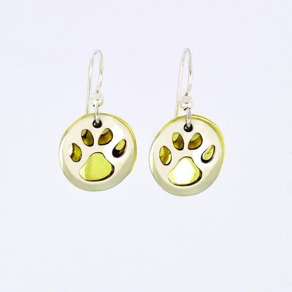 Paw Cutout Earrings