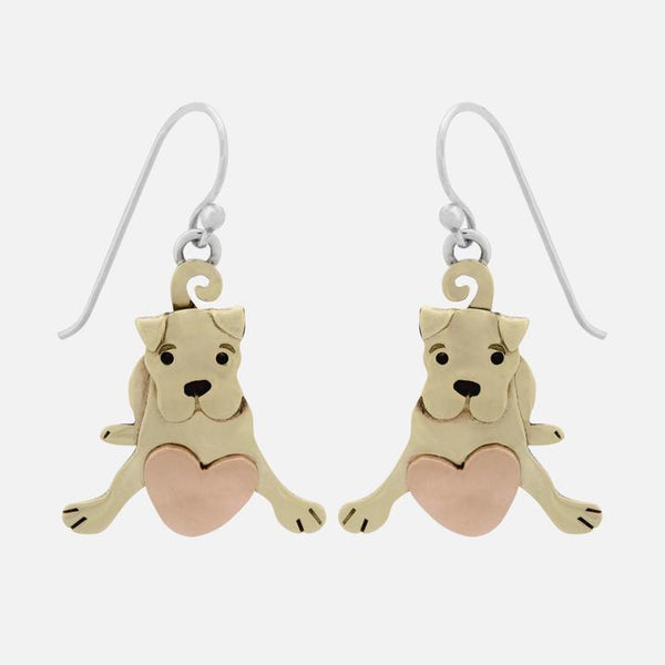 Puppy Love Earwire Earrings