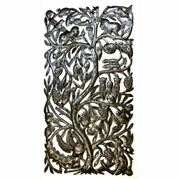 Tree of Life Haitian Metal Wall Art