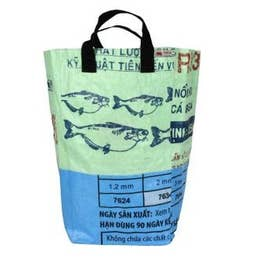 Recycled Small Cement Tote Bag