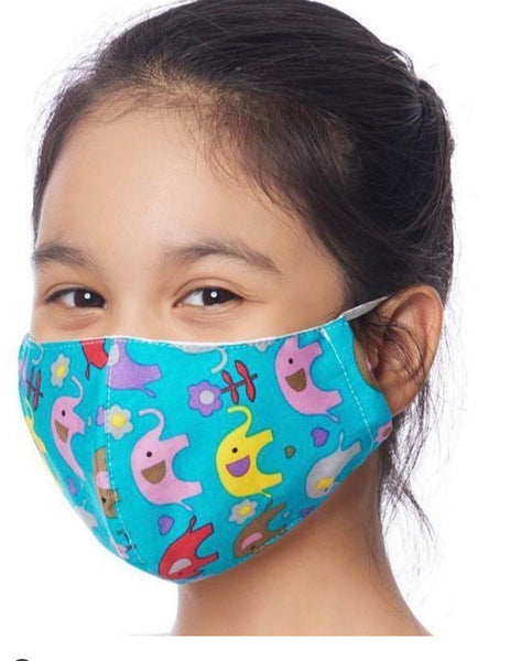 Children's Face Mask w/ inside pocket for filter