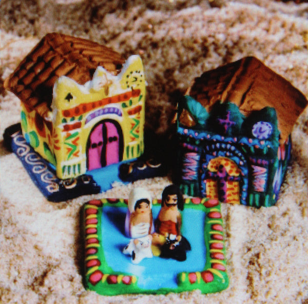 Mayan Mini Church Nativity