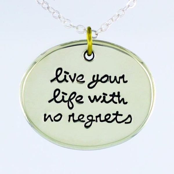 Live Your Life Necklace