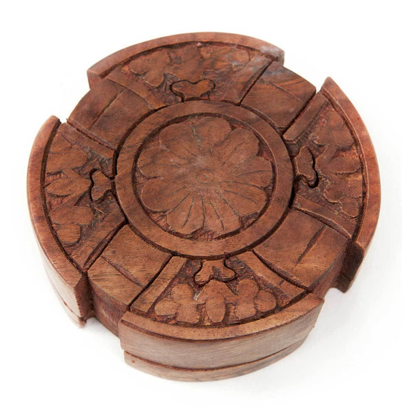 Wooden Puzzle Box