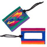 Luggage Tags- Cotton Loomed