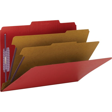 Smead Manufacturing Company SafeSHIELD Colored Classification Folder