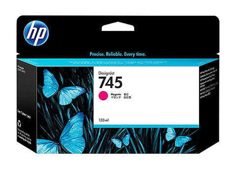 HP 745 (F9J95A) Magenta Original Ink Cartridge (130 ml)