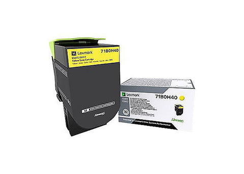 Lexmark CS417 CS517 CX417 CX517 Yellow High Yield Toner Cartridge (3500 Yield)