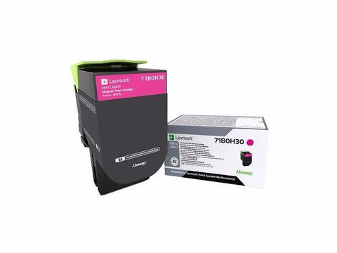 Lexmark CS417 CS517 CX417 CX517 Magenta High Yield Toner Cartridge (3500 Yield)