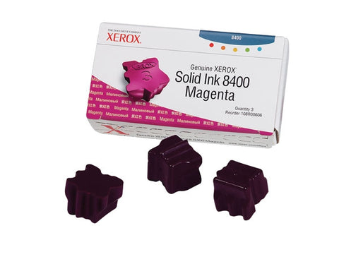 Xerox  Phaser 8400 Magenta Solid Ink (3 Sticks/Box) (Total Box Yi
