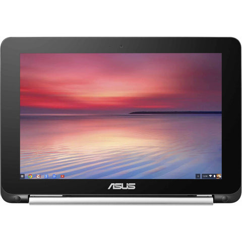 "ASUS Computer International  Chromebook Flip C100PA-DB02 10.1"" Touchscreen LCD 2 in 1 Notebook"