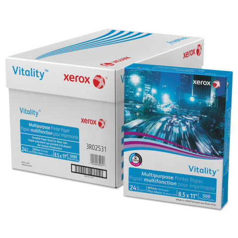 Xerox<sup>®</sup> 3R02531 Copy & Multipurpose Paper - For Laser, Inkjet Print - Letter - 8.50