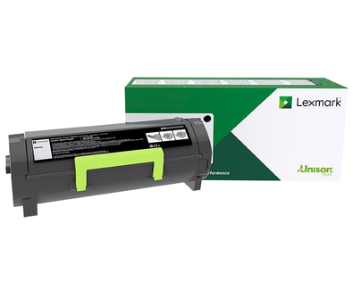 Lexmark MS317 MS417 MS517 MS617 MX317 MX417 MX517 MX617 Return Program Toner Cartridge (2500 Yield)