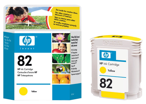HP 82 (C4913A) Yellow Original Ink Cartridge (69 ml)