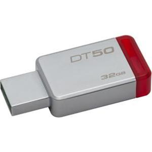 KINGSTON Kingston 32GB USB3.0 DT 50 Metal Red