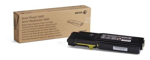 Xerox<sup>&reg;</sup> High Capacity Yellow Toner Cartridge (6000 Yield)