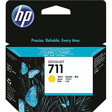 HP 711 29-ml Yellow DesignJet Ink Cartridge