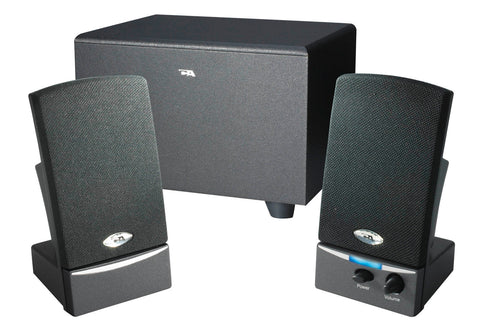 Cyber Acoustics  CA-3001 2.1 Speaker System - 8 W RMS - Black