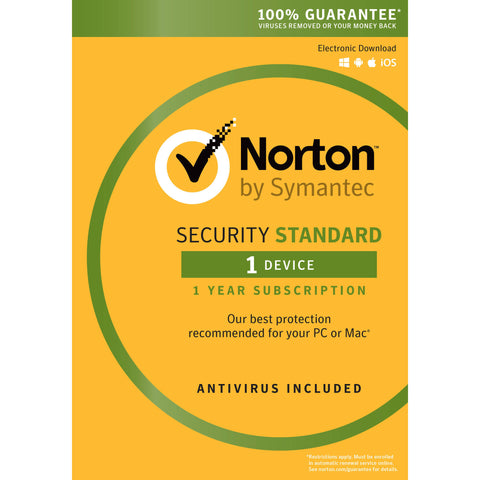 SYMANTEC Norton Security Standard for 1 Device Download (1 Year)