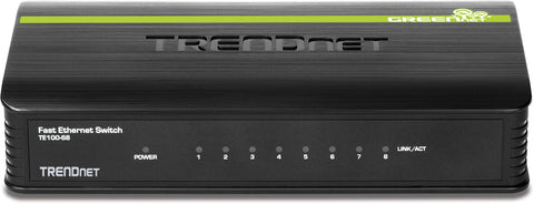 TREND NET 8 Port 10 100 Mini Switch
