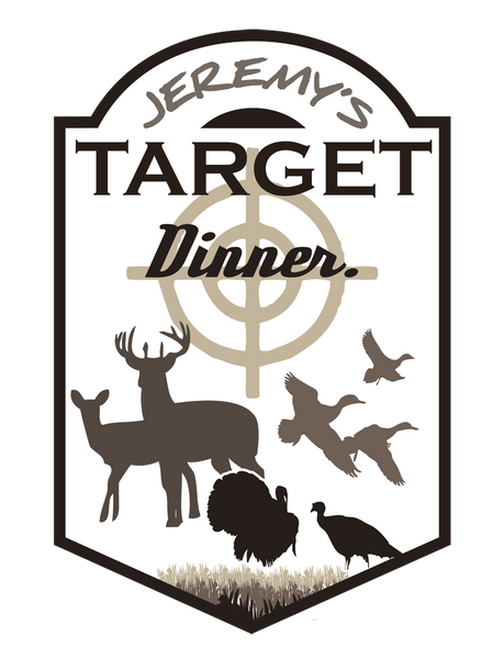 "Custom Hunting Target // 24"" x 32"" // Die Cut Wall Decal"