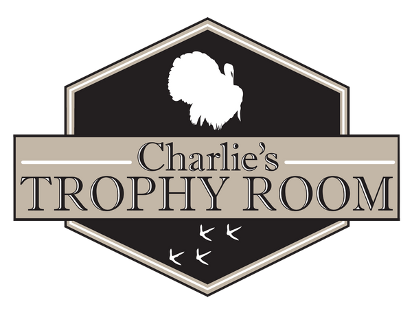 "Custom Hunting Trophy Room // 24"" x 32"" // Die Cut Wall Decal"