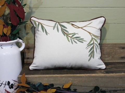 "Oak Branch // 12""x16"" // Wilderness Accent Pillow with Insert"