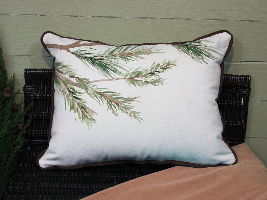 "Pine Tree // 12""x16"" // Wilderness Accent Pillow with Insert"