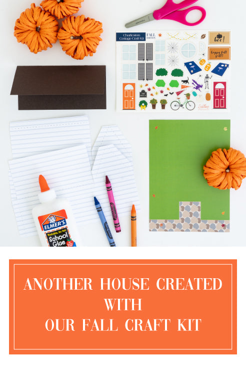 Our Fall Craft Kit shown in two totally different looks.
