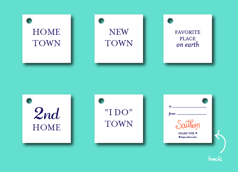 complimentary gift tags