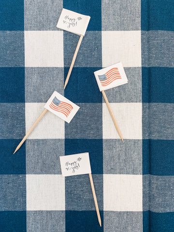 printable 4th of july party decorations