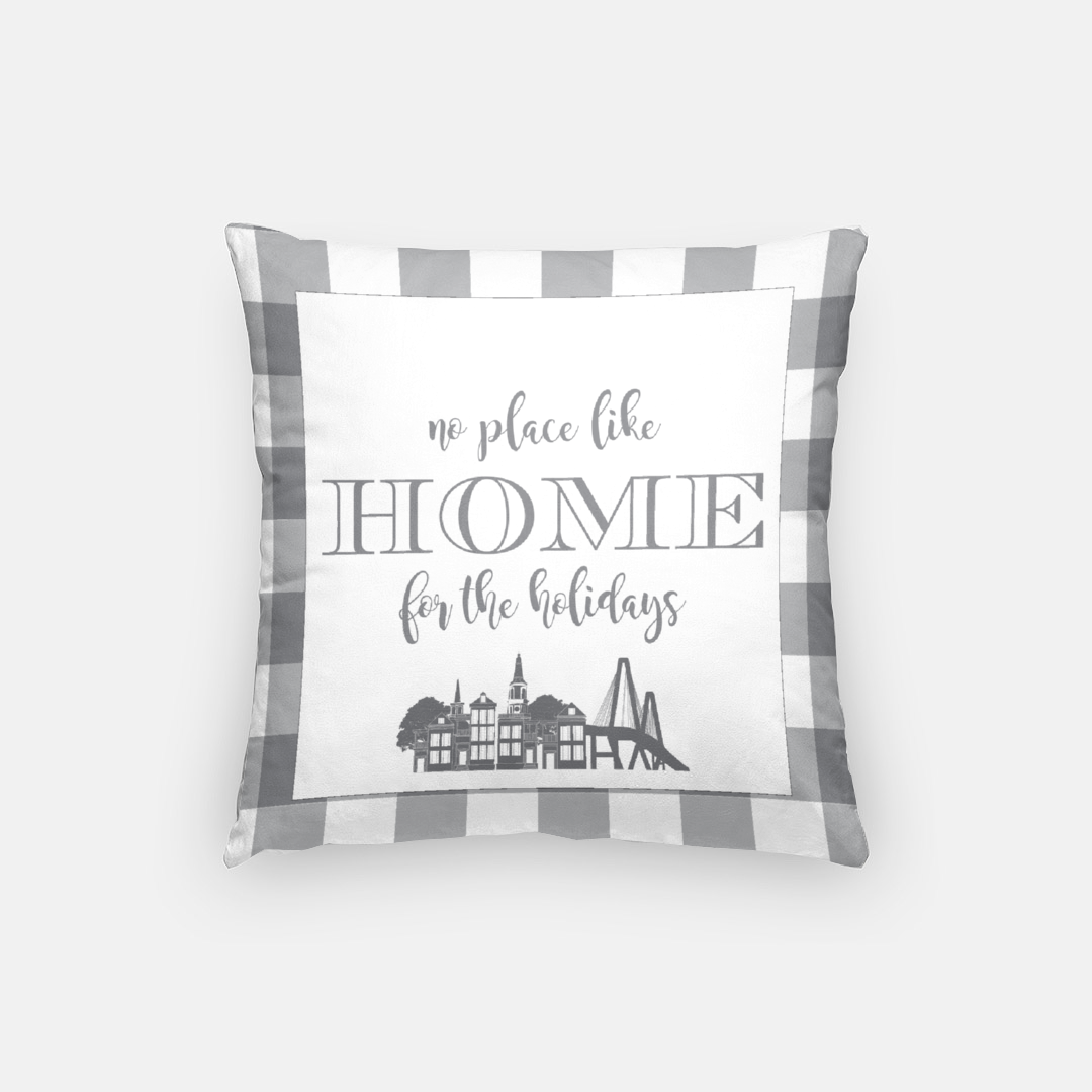 No Place Like Home Pillow Covers (multiple cities!)