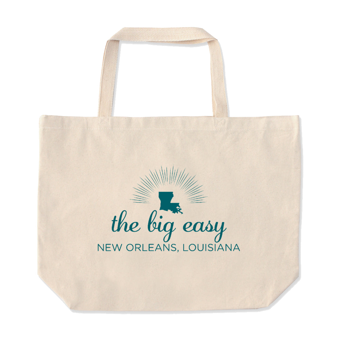 New Orleans Oversize Tote Bag