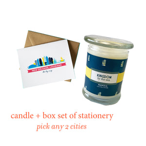 Candle + Stationery