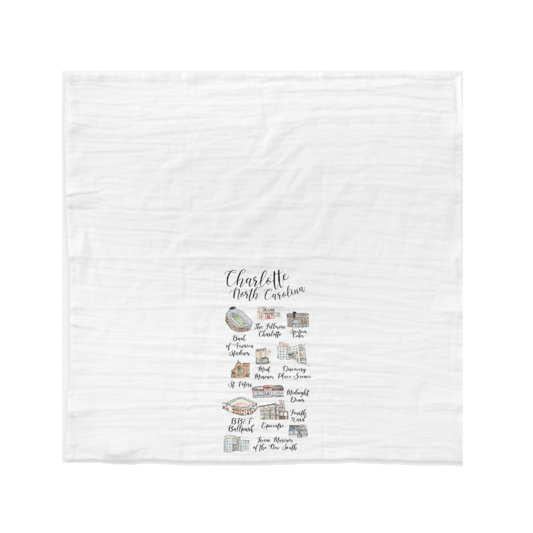 charlotte tea towel