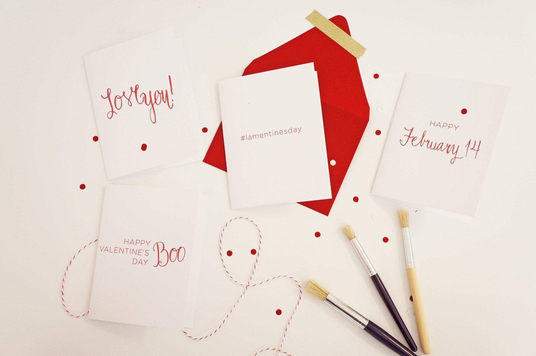 Love You Sweet Valentine's Day Card - shop greeting cards, handmade stationery, & wedding invitations by dodeline design - 2