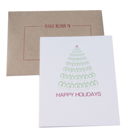 Flip Flop Christmas Cards