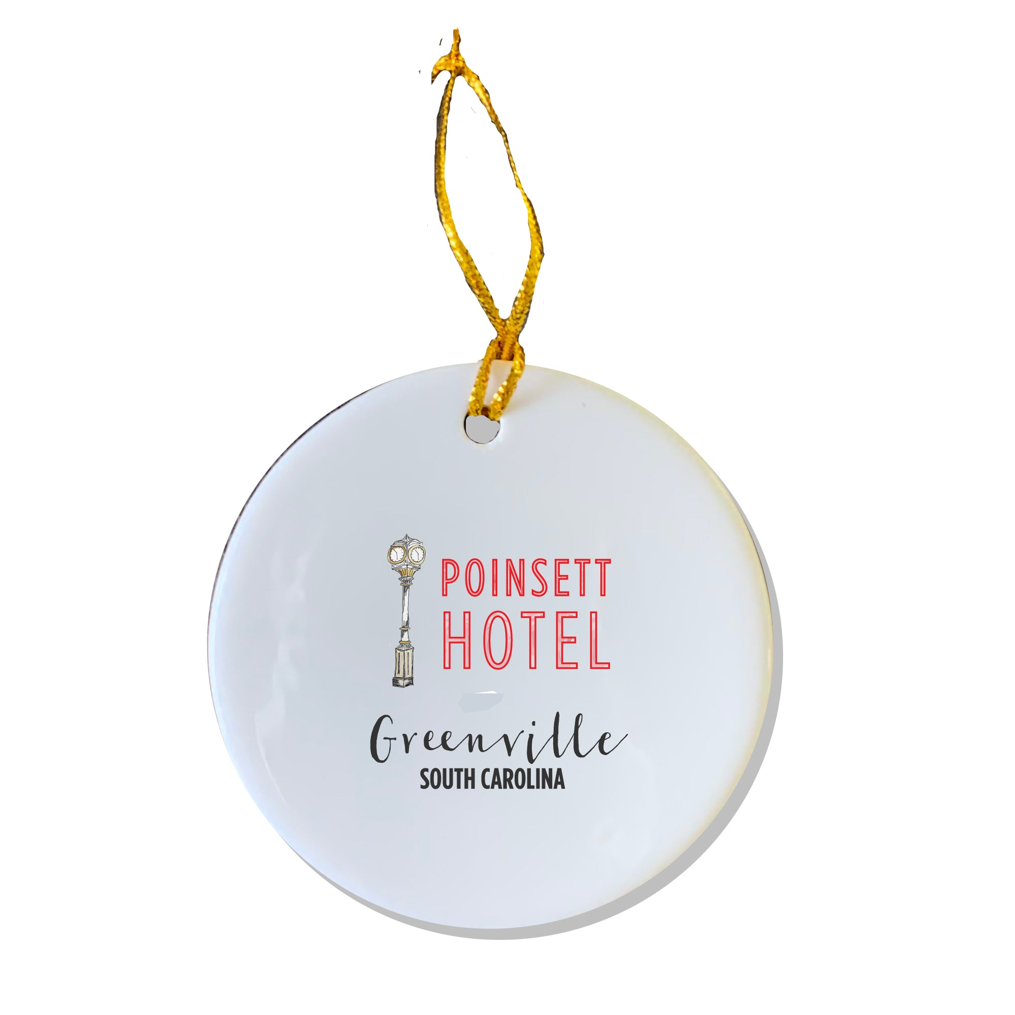 Poinsett Hotel Sign Ornament