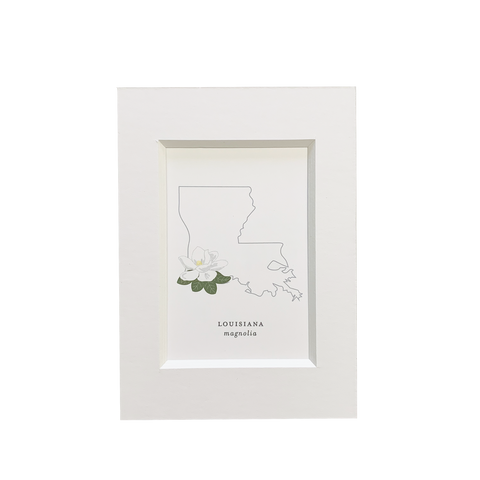 Louisiana State Flower Print
