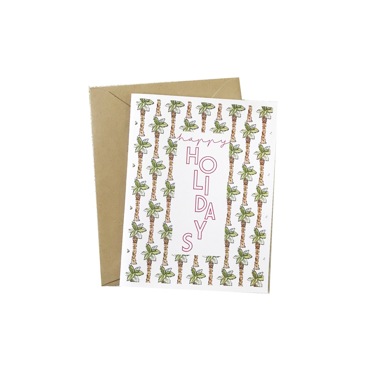 Tropical Holiday Card | Palm Trees