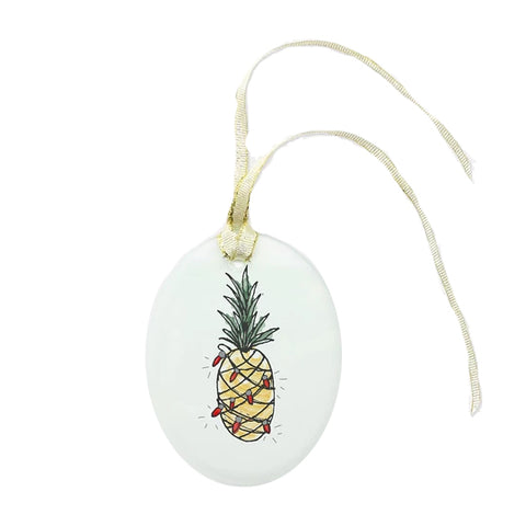Pineapple Christmas Ornament