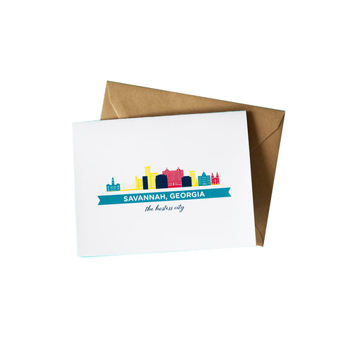Savannah Greeting Card