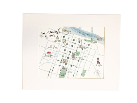 Savannah Map